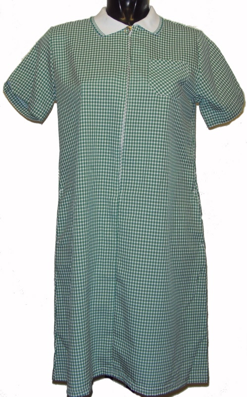 Girls schoolwear : Large Girls gingham School summer dress Bottle ...