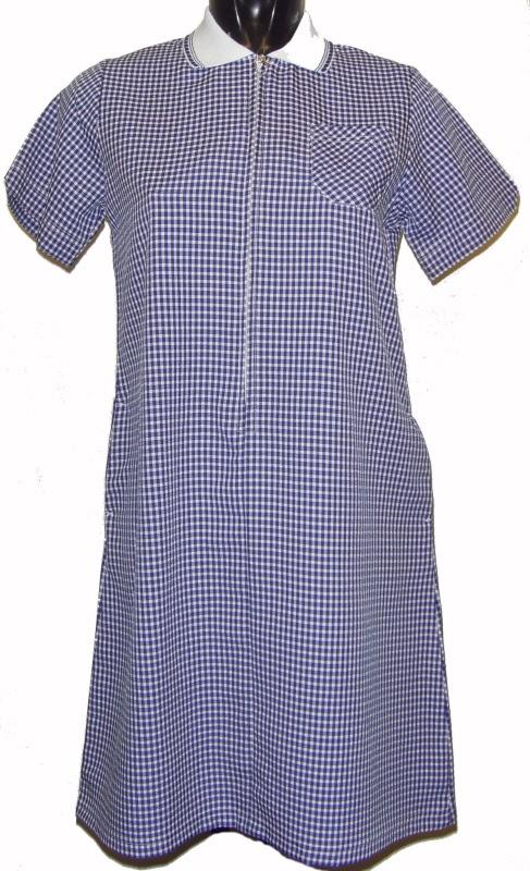 e8545237a95 Girls schoolwear   Large Girls gingham School summer dress Navy Blue