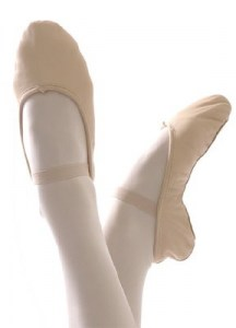 l_Leather ballet shoes