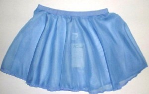 l_Roch valley sky chiffon skirt